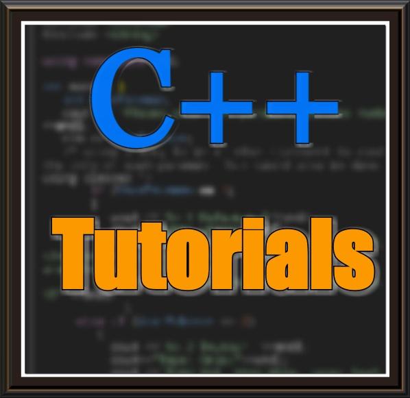 Picture of C++ Tutorials Part-1