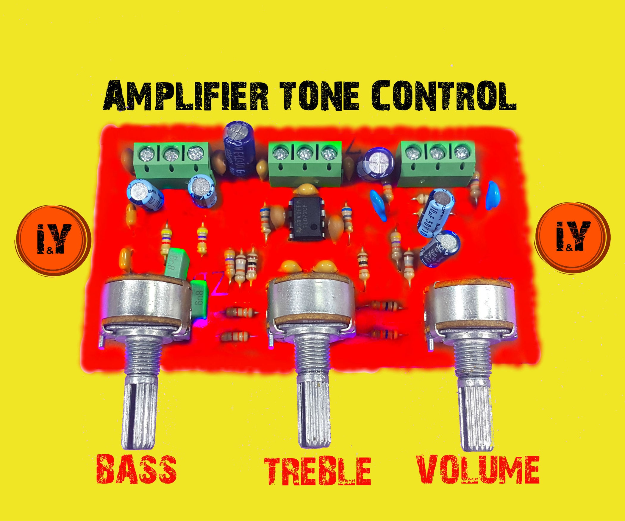 Amplifier Tone Control 3 Steps Volume Wiring Diagram Schematics