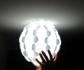 12 module - Paper Sphere Lamp