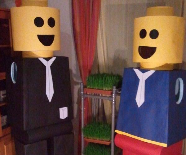 Lego Man Costumes - Remake