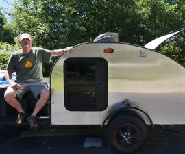 Teardrop Trailer Aluminum