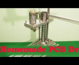 DIY Mini PCB Press Drill Homemade Drilling very cheap