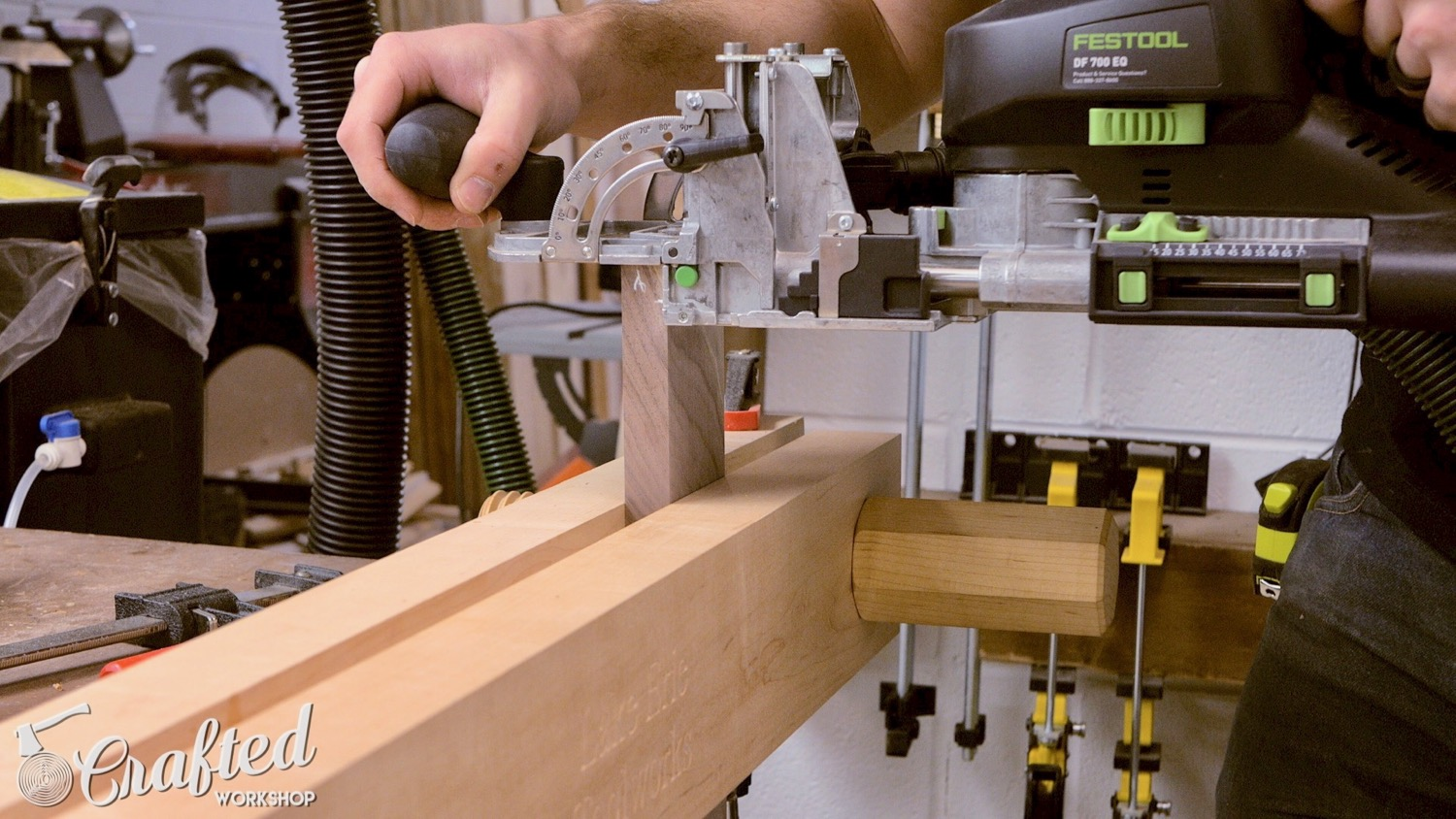 Picture of Cut Joinery for Legs