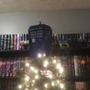 Tardis Christmas Tree Topper