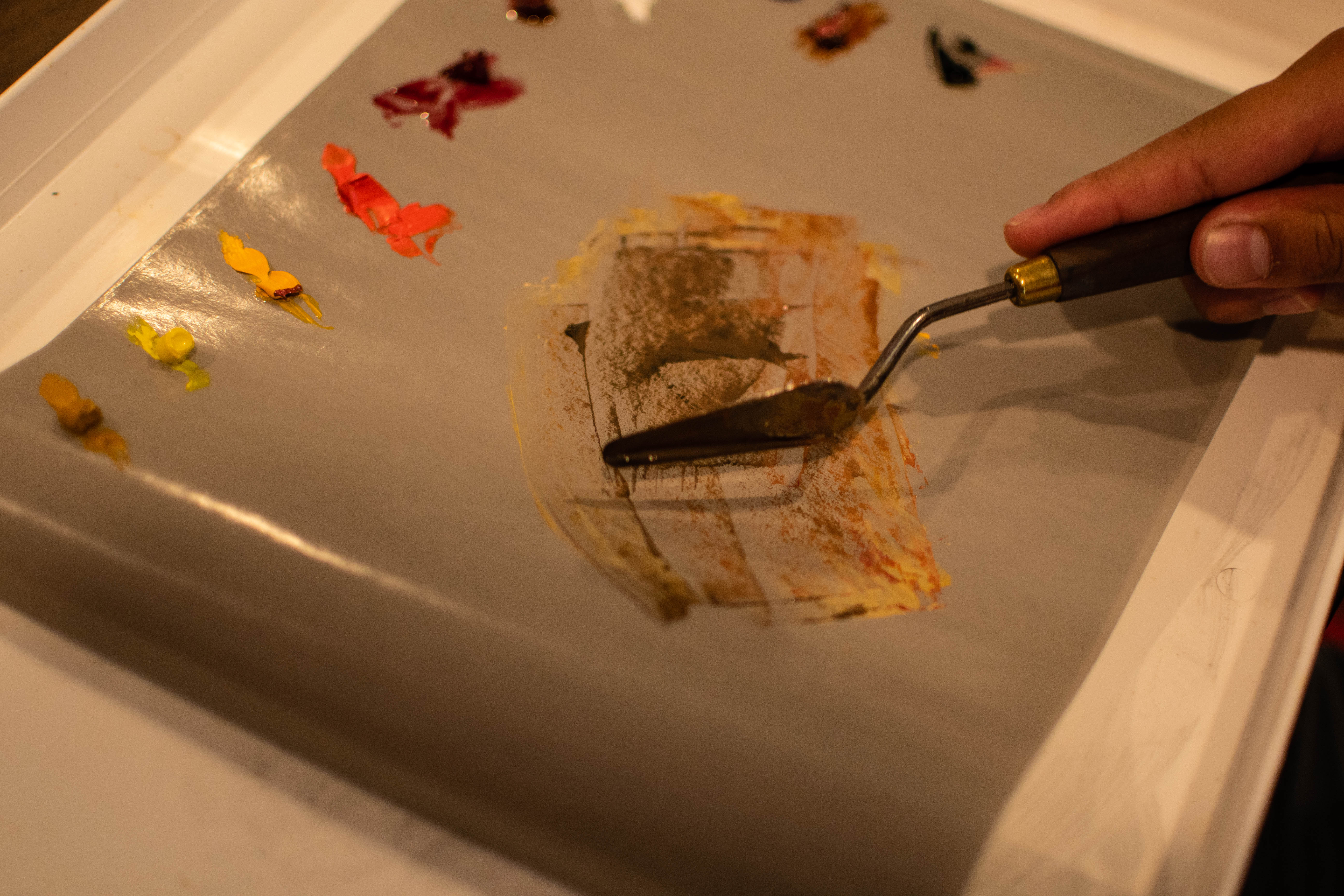 Picture of Using a Palette Knife Correctly
