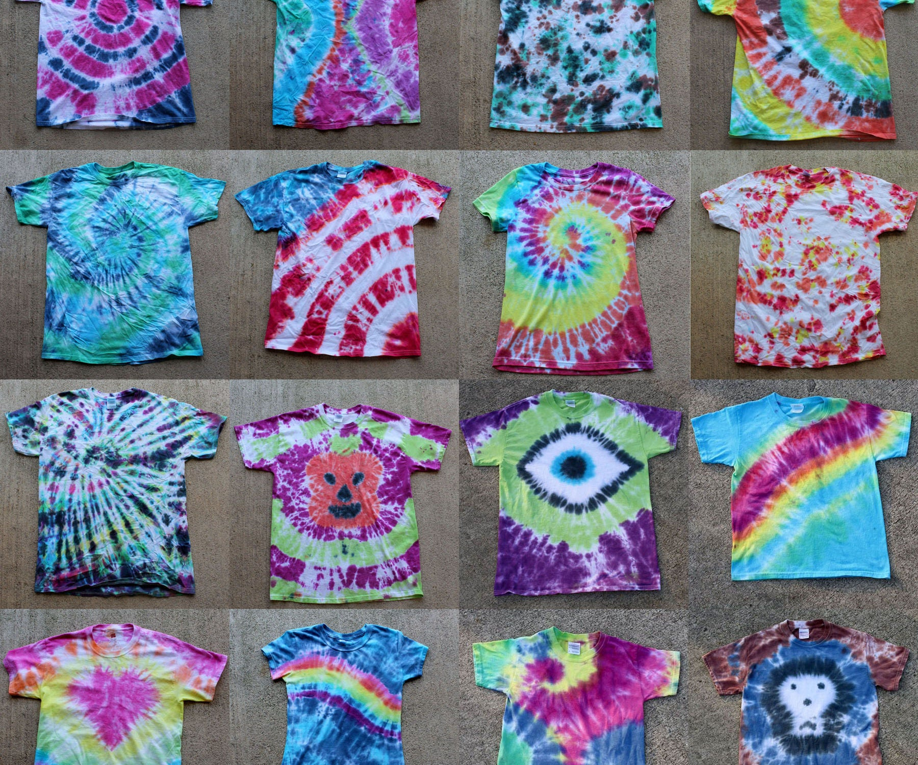 Tie Dye Party Learn To Tie Dye 6 Steps With Pictures Instructables