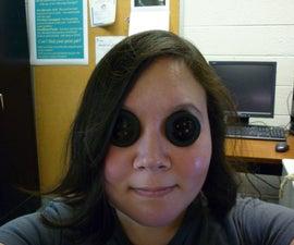 Coraline Button Eyes (see through and prescription)