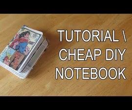 Cheap Easy DIY Notebook