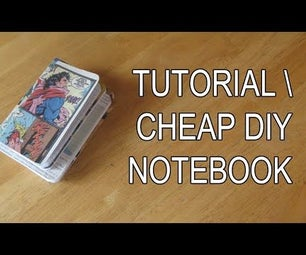 Cheap Easy DIY Notebook
