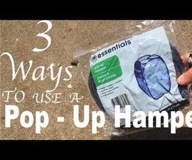 3 Ways to Use a Pop Up Hamper in the Garden