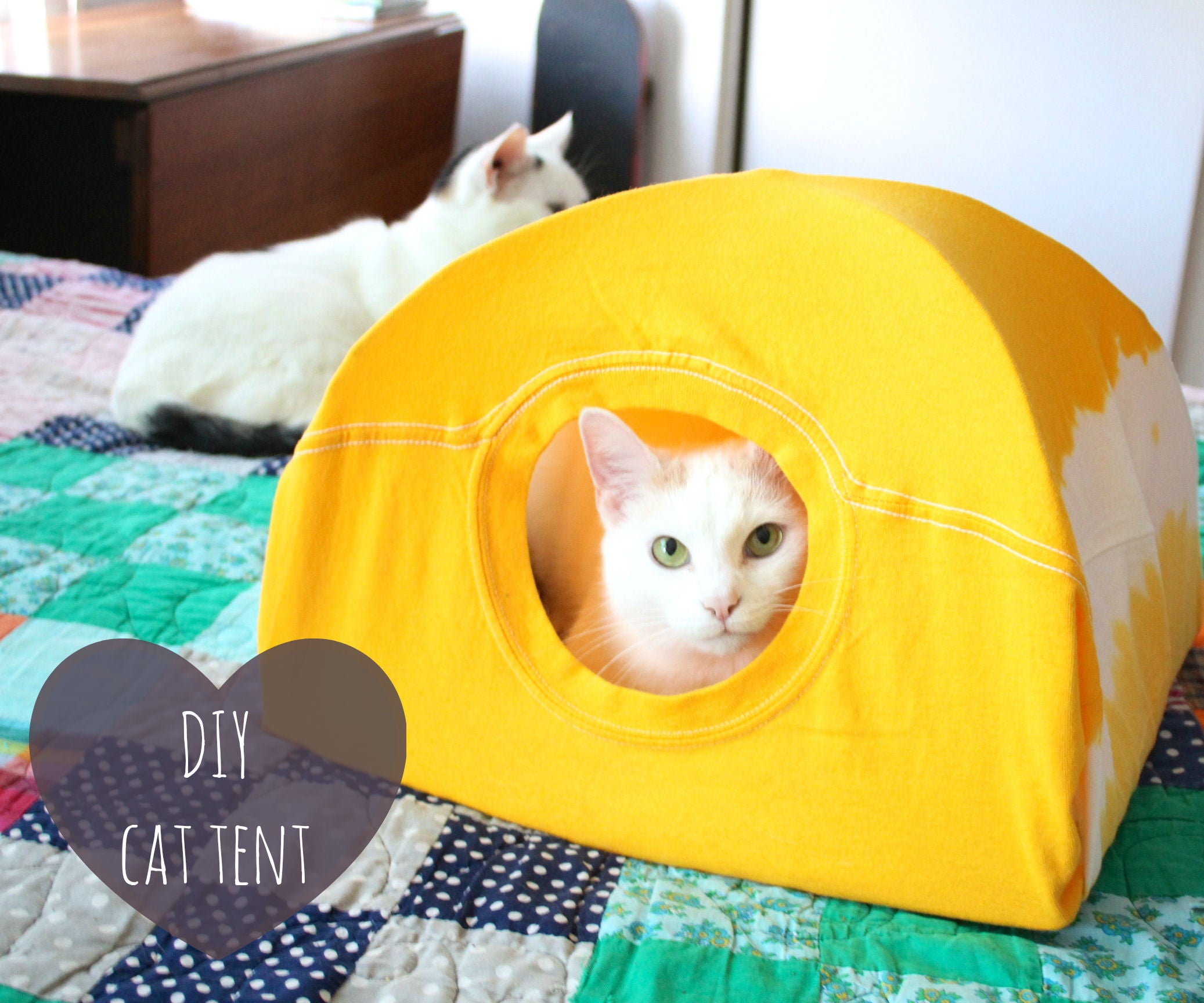Ideas for Pet Sewing: Cat Tent