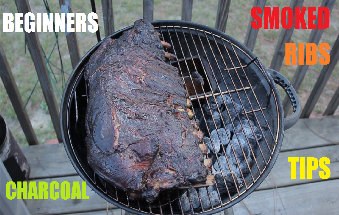 Picture of Charcoal Smoked Ribs Tips for Beginners