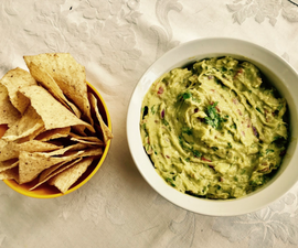 Guacamole Dip and Chips