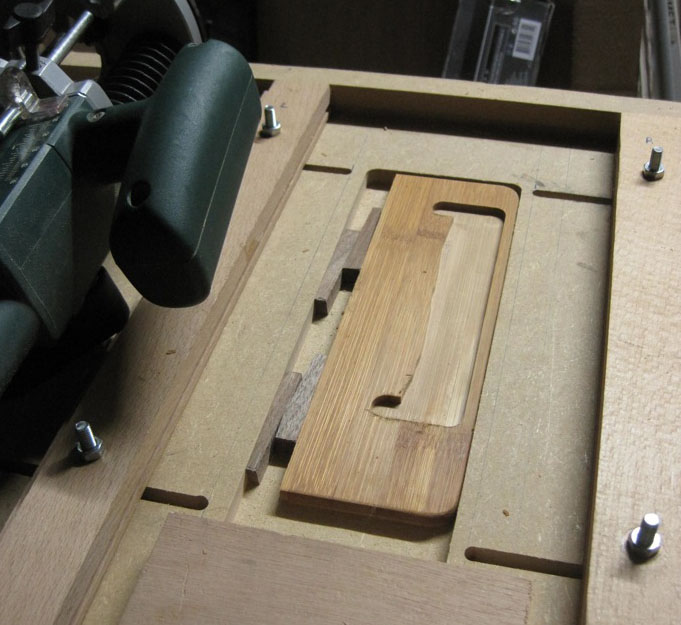Picture of Routing the Piece