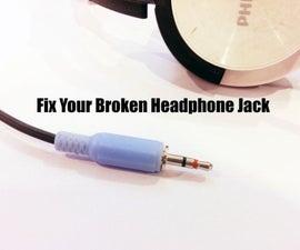 Fix Your Broken Headphone Jack