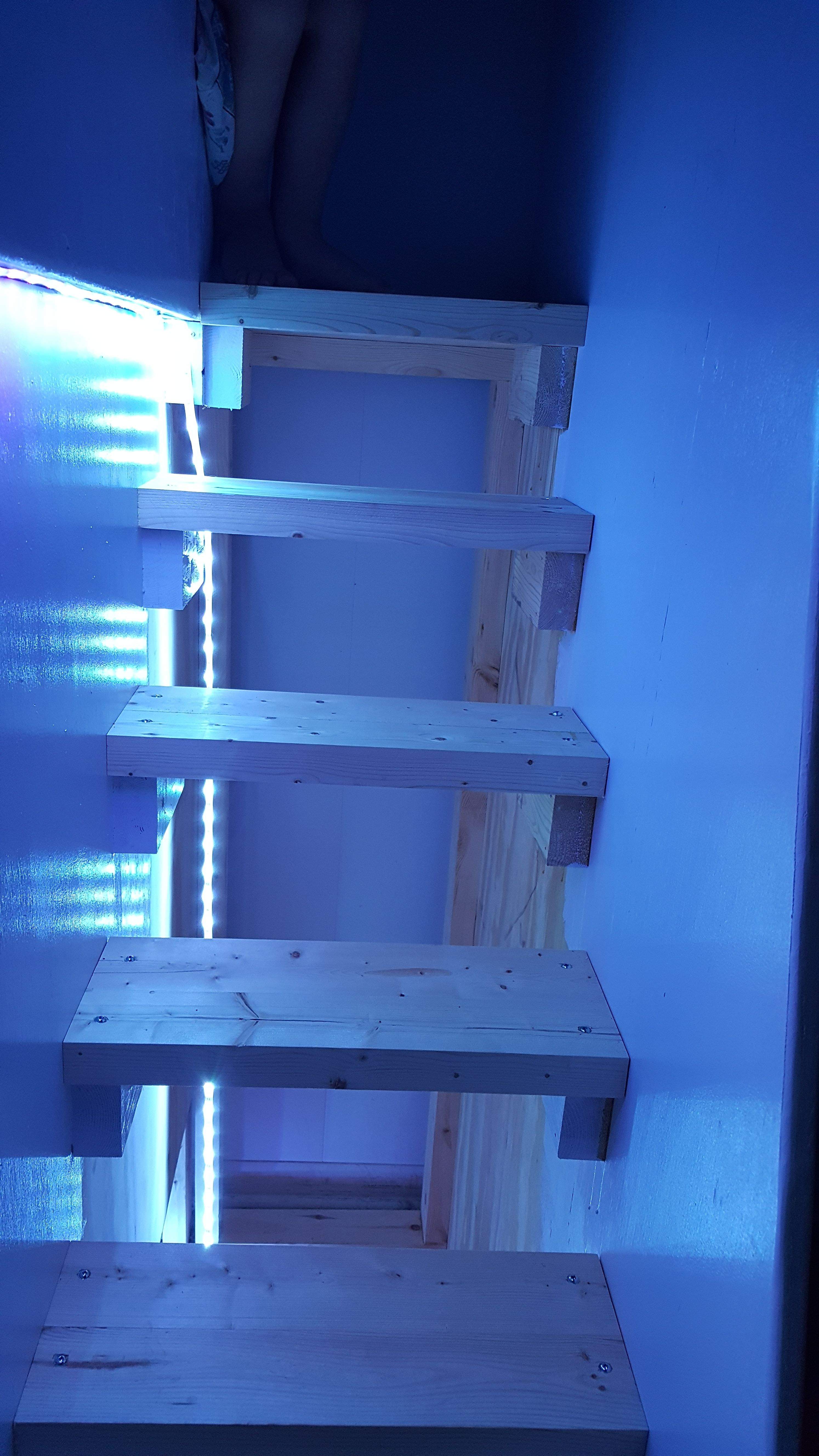 Picture of Attaching the Strips