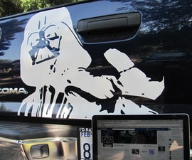 How to Create Vinyl Decals (by Hand)