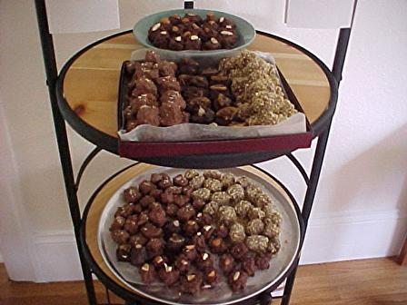 Picture of Walnut & Chocolate Covered Homemade Marshmallows