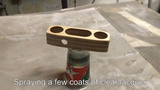 Applying Clear Coat