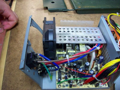 Remove the Plug From the Power Supply