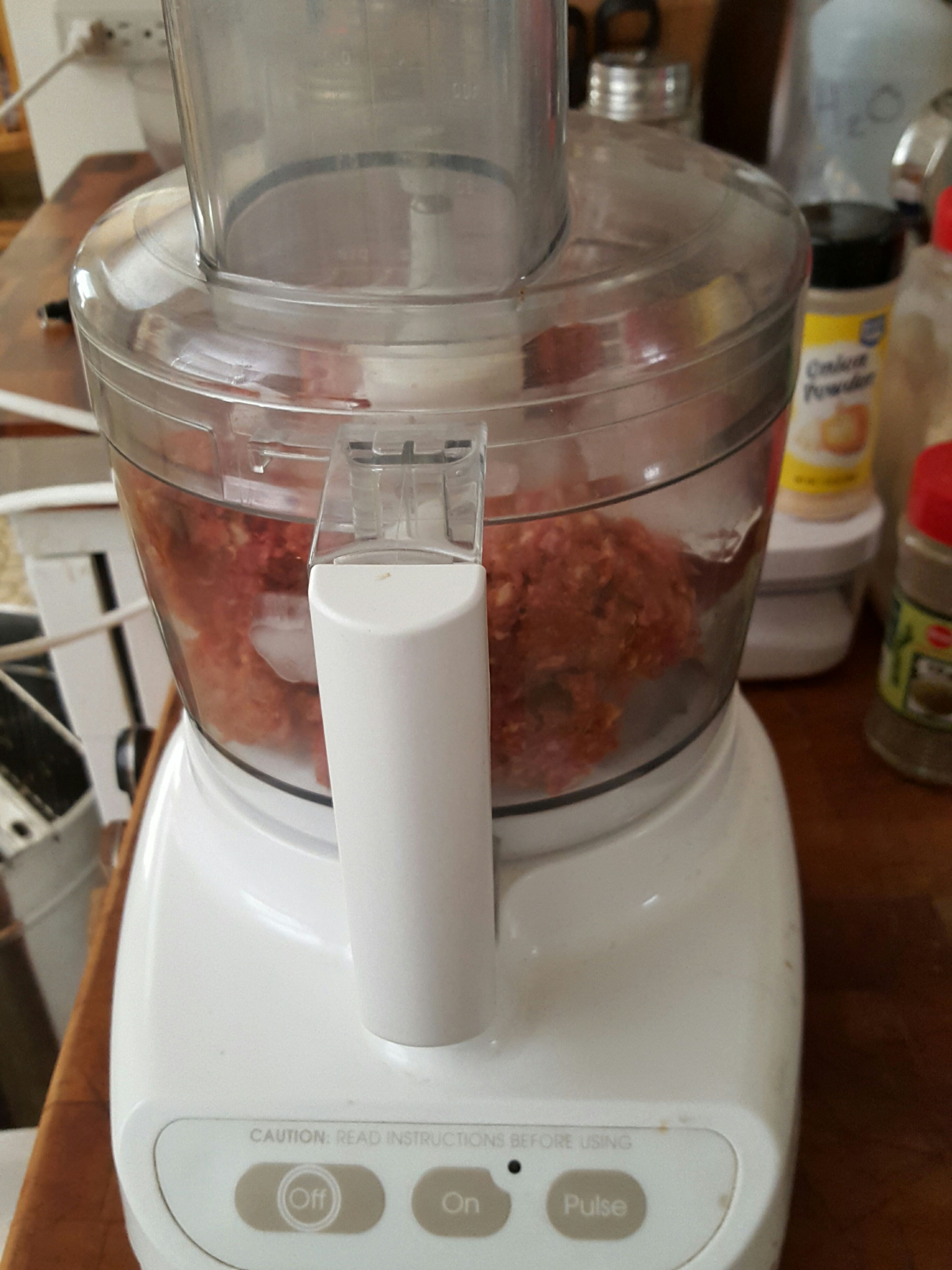 Picture of Grinding the Meat