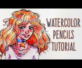 How to Draw Curly Hair Girl | Anime Kawaii Style ( + Step by Step Video )