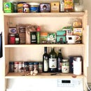 DIY! Above Stove Shelf