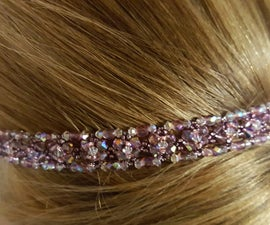 Sparkly Beaded Headband