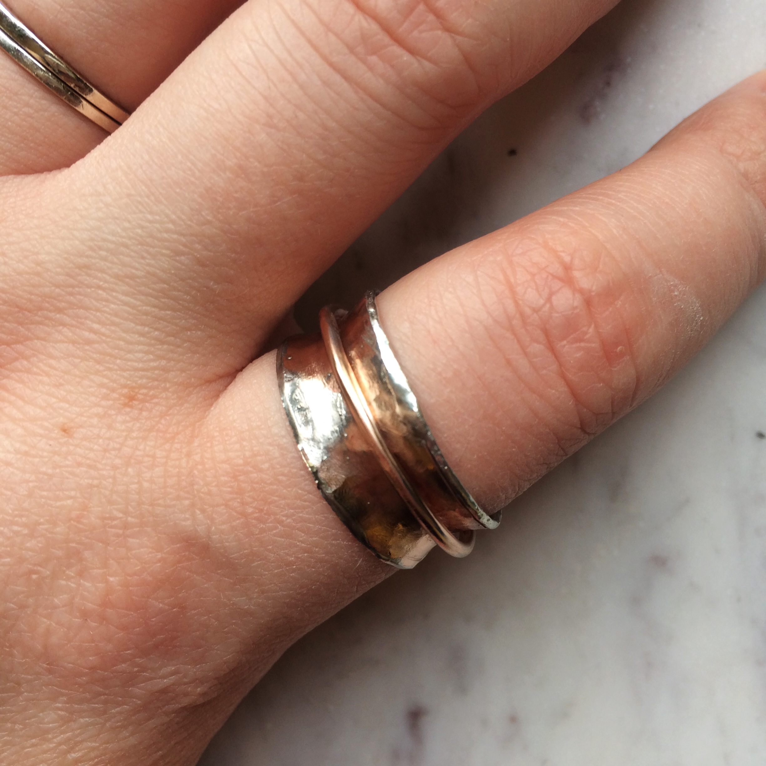 Picture of Recycled Copper Spinner Ring