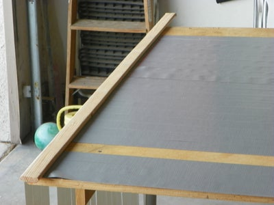 Length of Grey Duct Tape