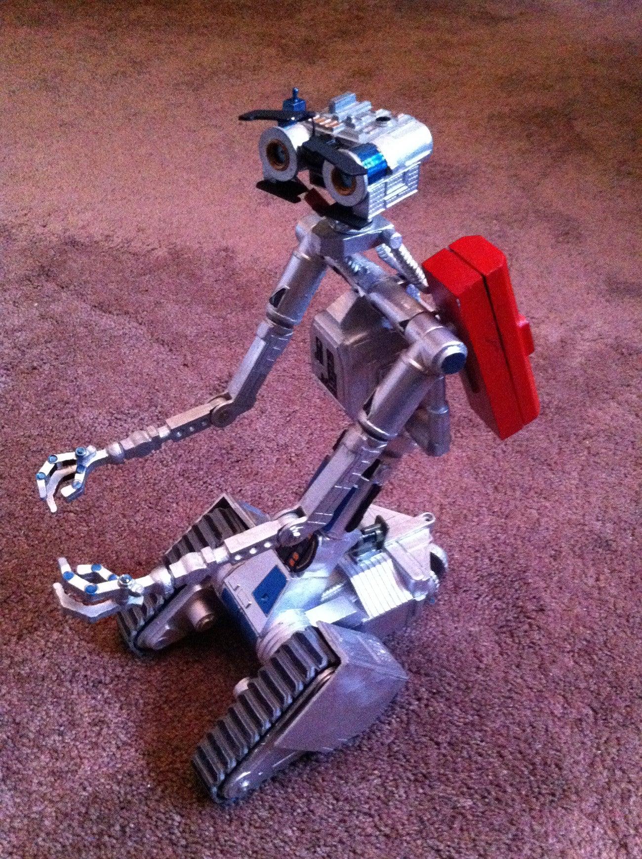 Nova Project J5 Johnny Five Aluminum Robot V 4 Steps Short Circuit Robots