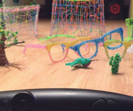 How to use the 3doodler (3d printing pen)!