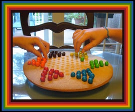 Edible Chinese Checkers
