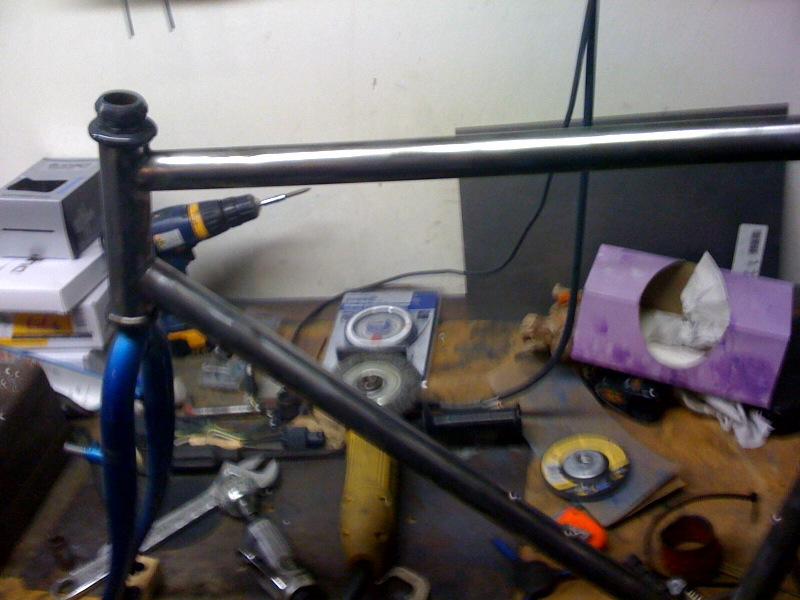Picture of Geometry and Head Tube