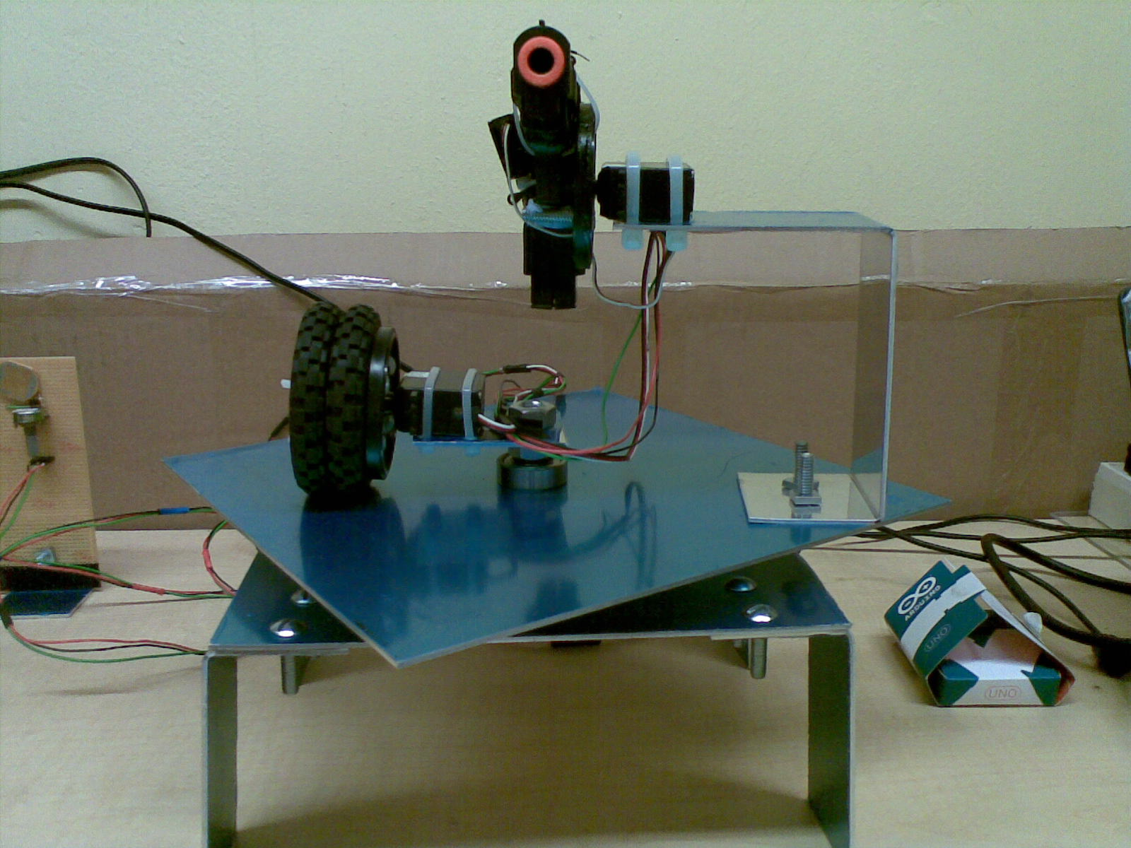 Picture of Building a Sentry Gun With Laser Trip Wire System and Arduino