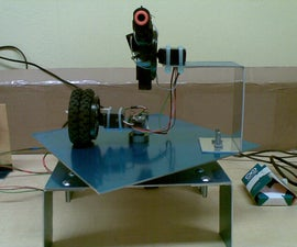 Building a Sentry Gun with Laser Trip Wire System and Arduino