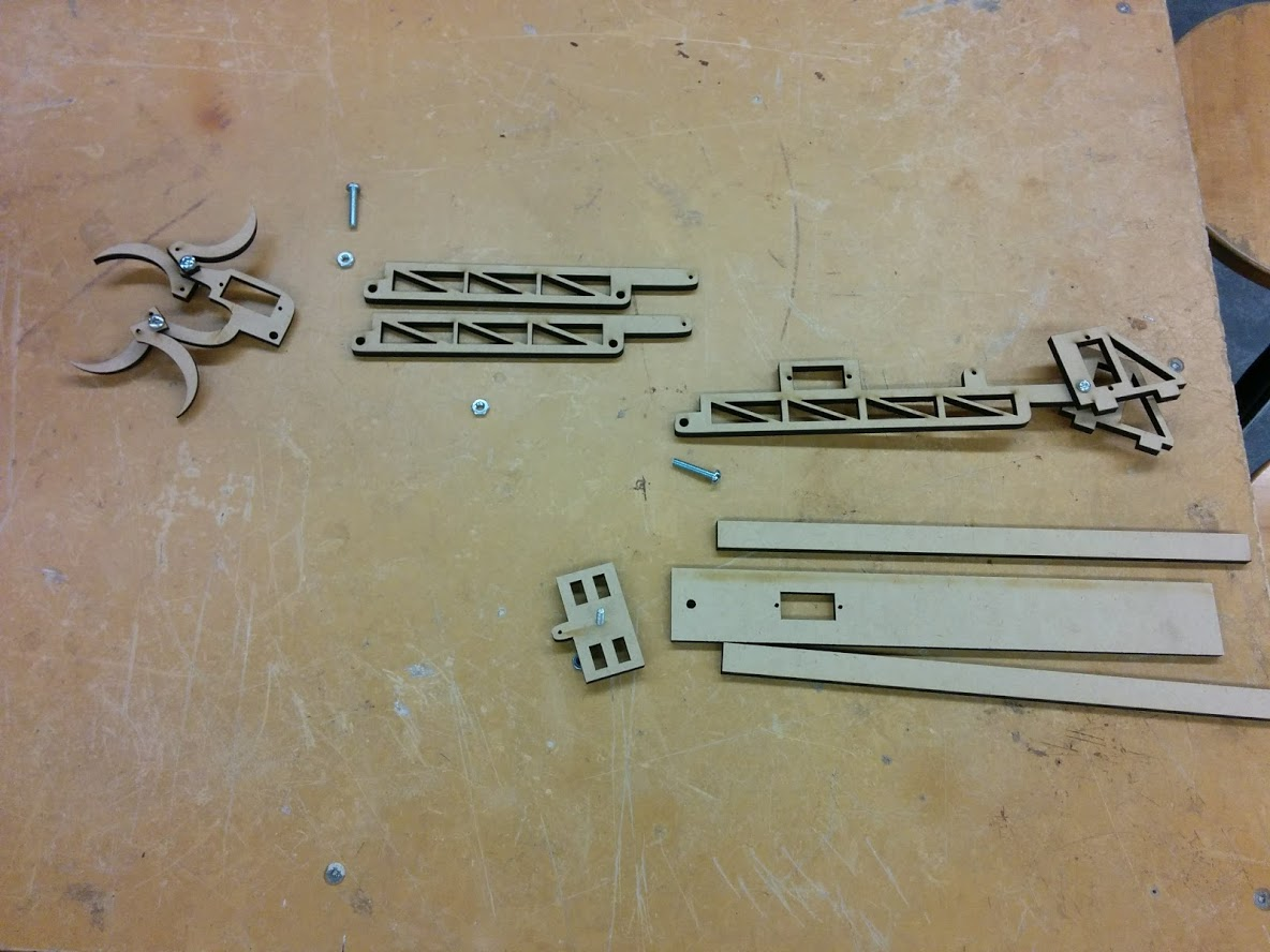 Picture of Cutting Out and Assembling the Arm