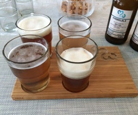Beer tasting kit using Ikea and CNC