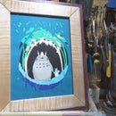 Picture Frame With Aluminum Inlay