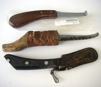 Hoof Knife Modifications