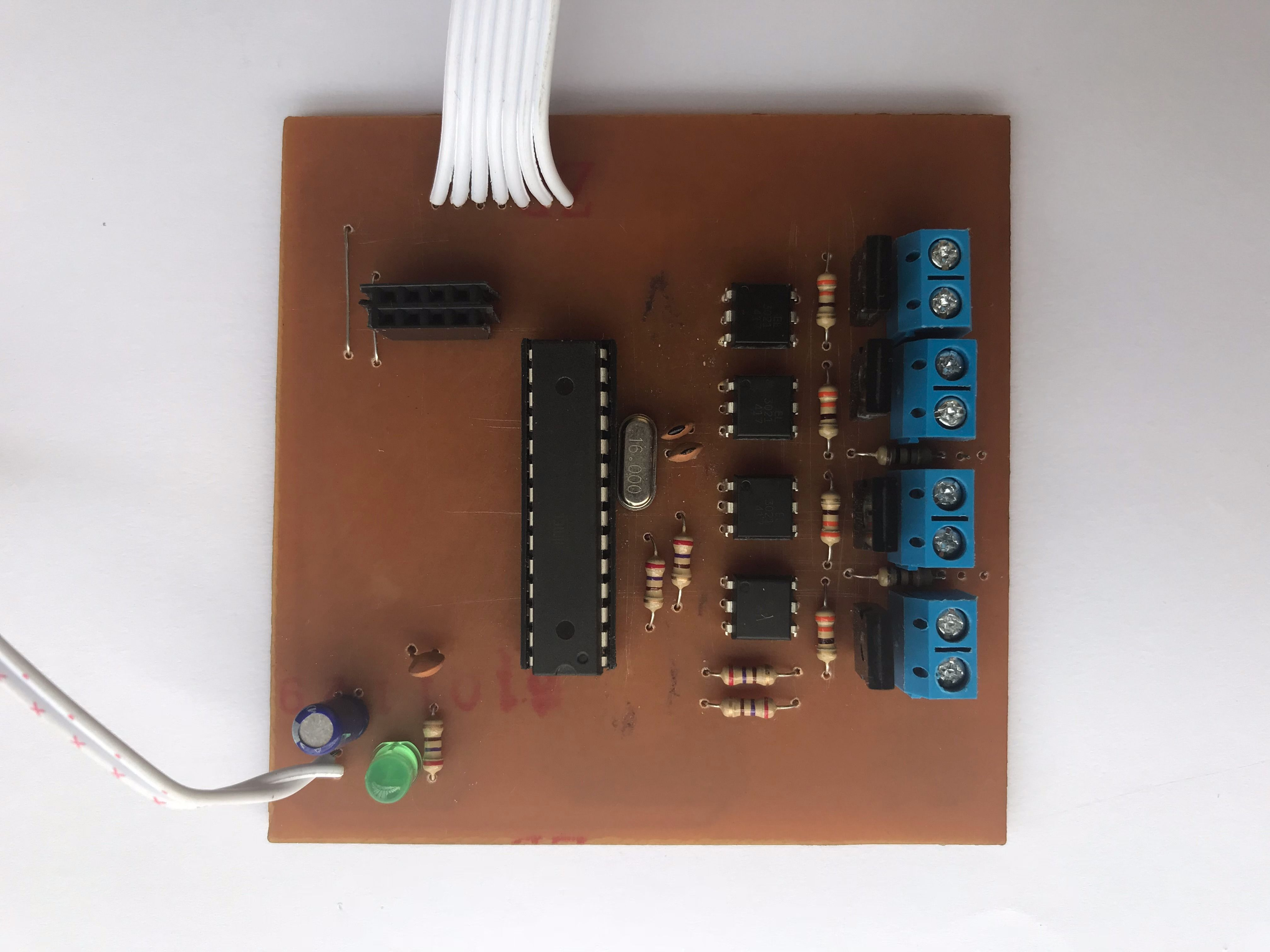 Picture of Soldering All the Components