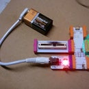 June 2014 Bulid Night: LittleBits Slider Blink