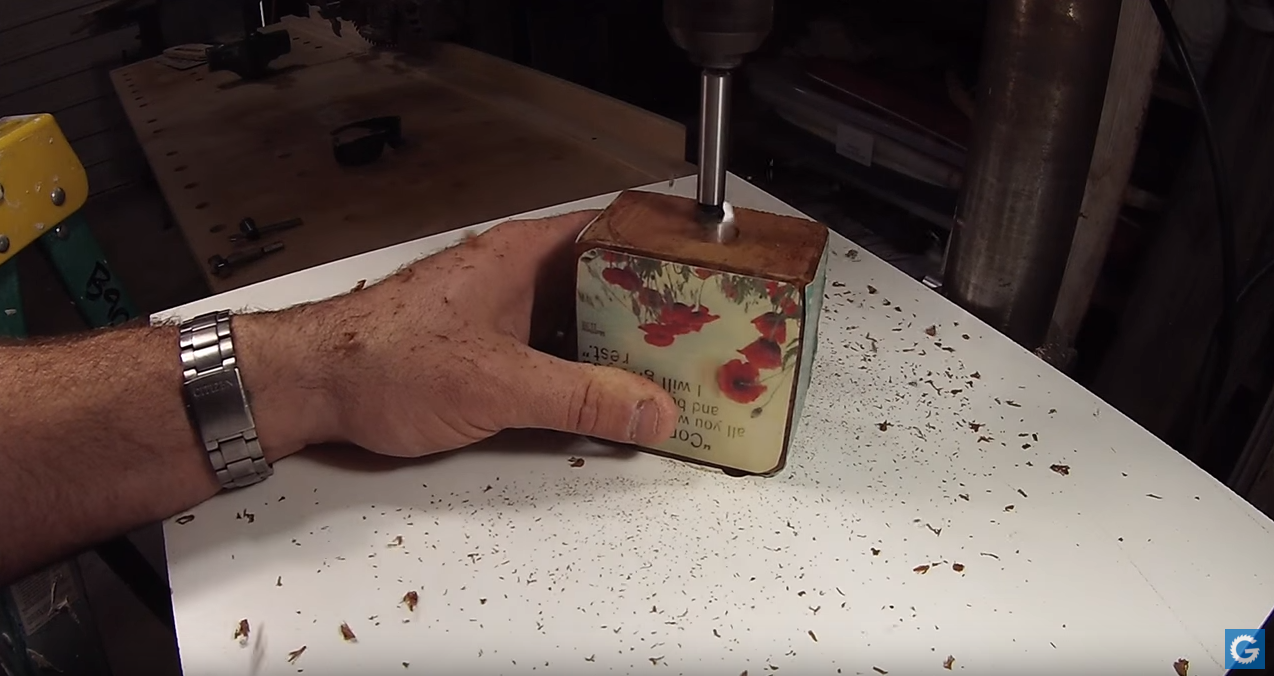 Picture of Drill a Hole for Your Magnet.