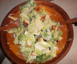 Caesar(ish) Supper Salad