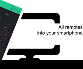 All Remotes Into Your Smartphone