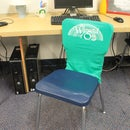 Recycle Old T-Shirts into Classroom Seat Covers