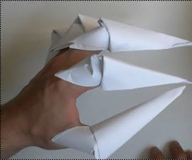 Origami Halloween Claws