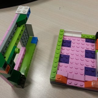 Raspberry Pi B+ LEGO Case (Smaller Footprint)