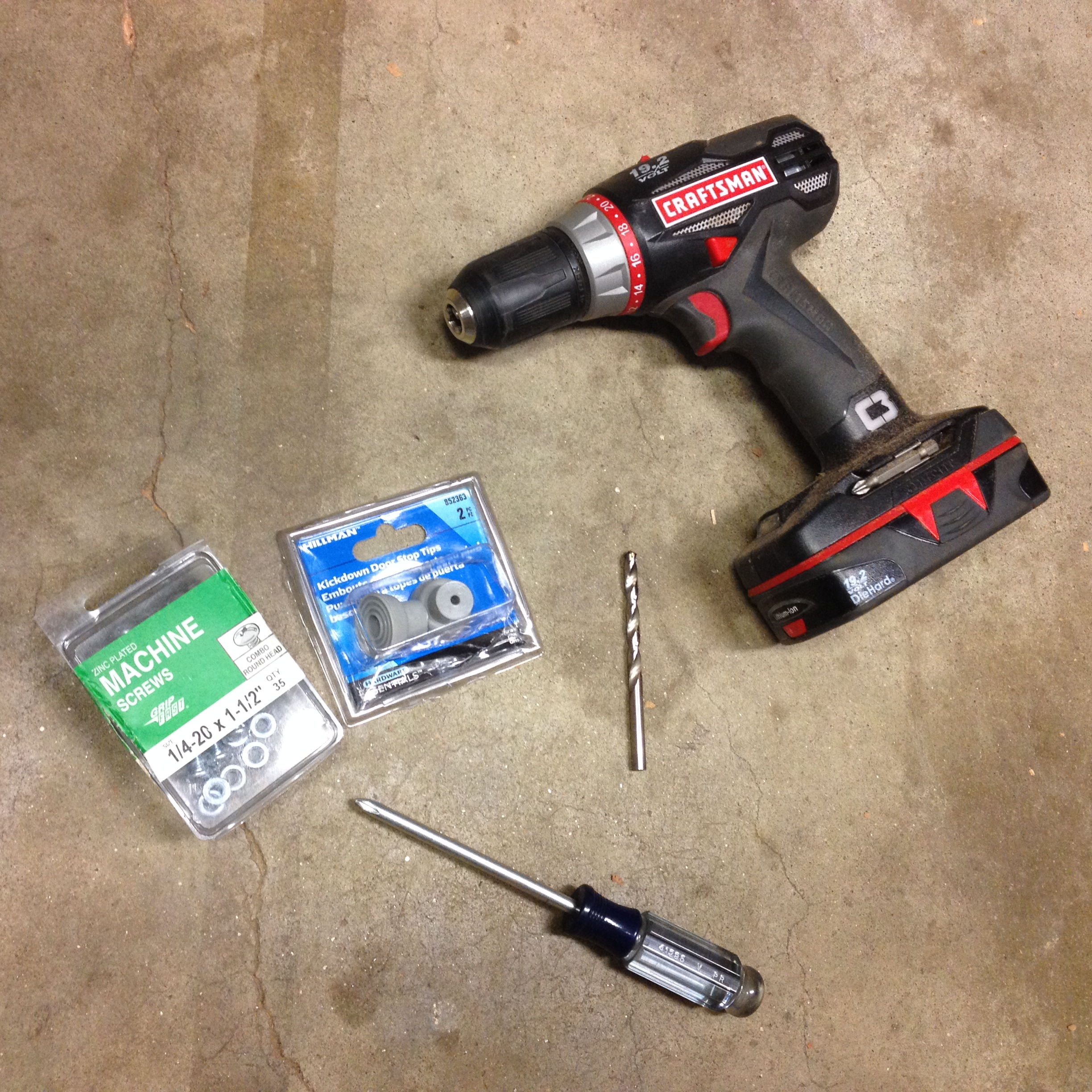 Picture of Gather Your Tools and Hardware