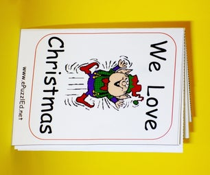 Make a Little Folded Christmas Book
